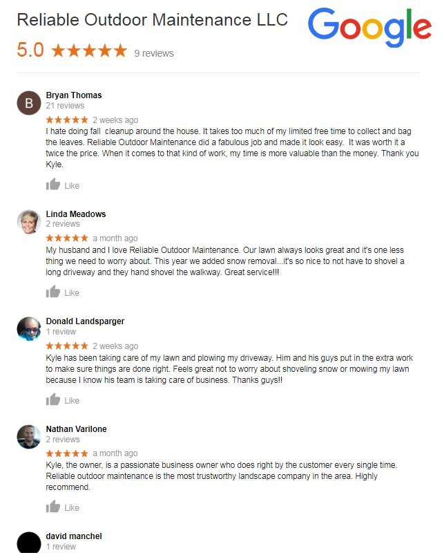 Lawn Care Reviews